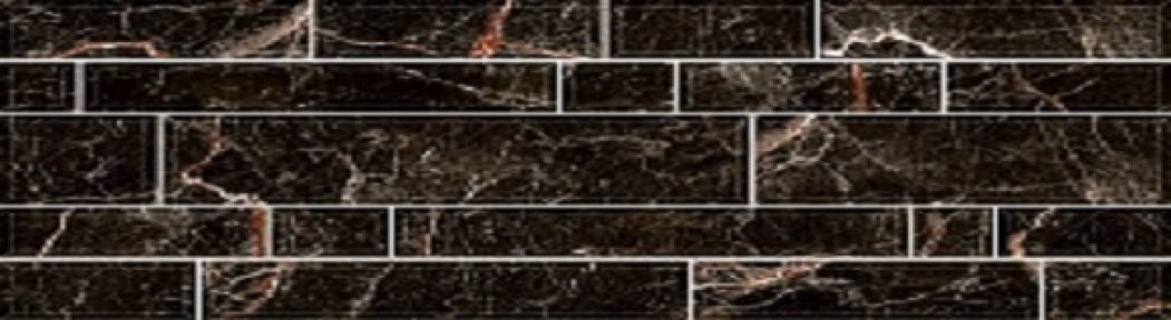 PLAZA Черный Обл.плитка 23*50 235095082