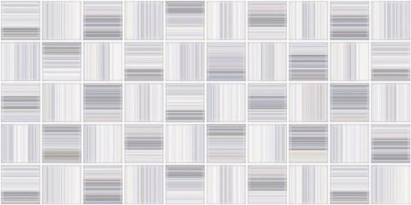 Меланж голубая Декор мозайка 25х50 103061-440