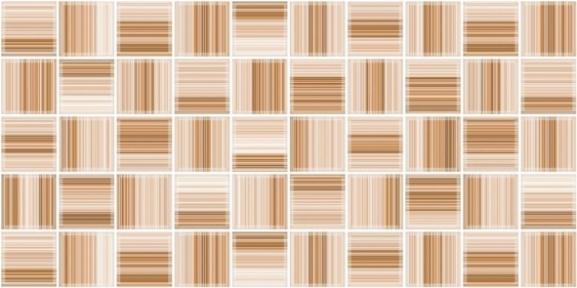 Меланж бежевая Декор мозайка 25х50 103011-440