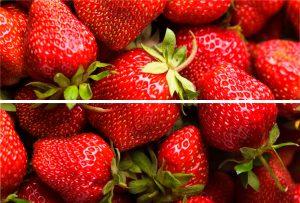 BEVELED TILE Strawberry Панно стеклянное 20*30 (из 2-х плиток) TD-BT-P-SB