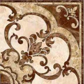 EMPERADOR коричневый Декор напольный 13,7х13,7 ДН 66 031