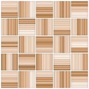 Меланж бежевый мозайка Пол 38,5х38,5 160011-440