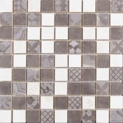 МЕРАВИЛЬ Натуральный Декор напольный Мозаика 30*30 1932-0013