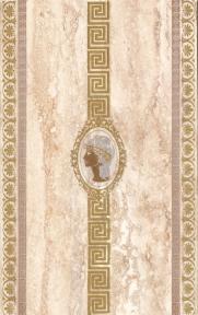 TRAVERTIN Medallion-Meander Декор (v) 25*40 TR-D4-CR