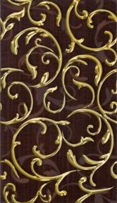 FANTASIA коричневый Декор новый 23х40 Д09032