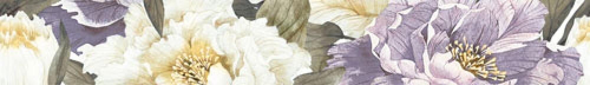 METALICO фиолетовый Бордюр 7x50 БВ89051