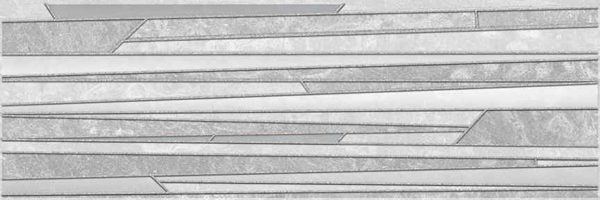 ALCOR TRESOR Серый Декор 20*60 17-03-06-1187-0