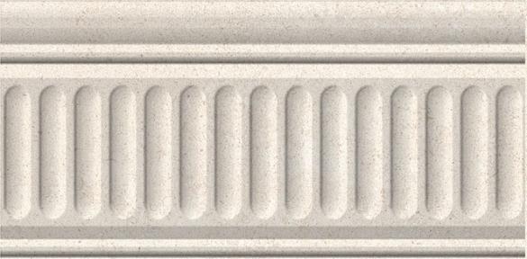 ЗОЛОТОЙ ПЛЯЖ Светло-бежевый Бордюр структурирован. 20*9,9 19021\3F