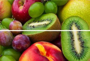 BEVELED TILE Fruits Панно стеклянное 20*30 (из 2-х плиток) TD-BT-P-FR