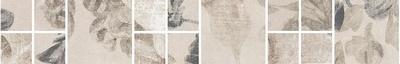 АЛЕКСАНДРИЯ Светлый Бордюр мозаичный 30*4,8 SG186\001