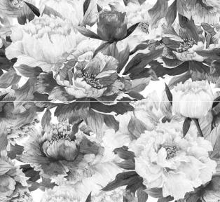 METALICO черный Декор Панно из 2-х пл. 46x50 П89081