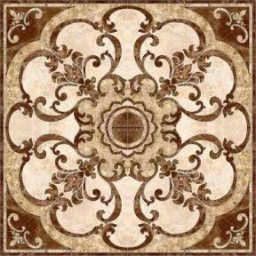 EMPERADOR коричневый Панно напольное 86x86 ПН 66 031