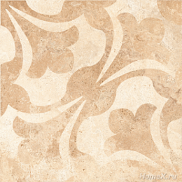 TIVOLI Decor Light Beige Декор 40*40 G-240/S/d01